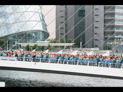 Riverdance Longest Line World Record 21st July 2013