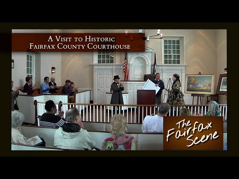A Visit to Historic Fairfax Courthouse