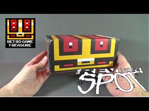 Subscription Spot - Retro Game Treasure August 2016 Subscription Box UNBOXING!
