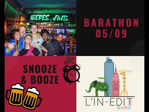L'In-Edit - Barathon 2018 - Snooze & Booze