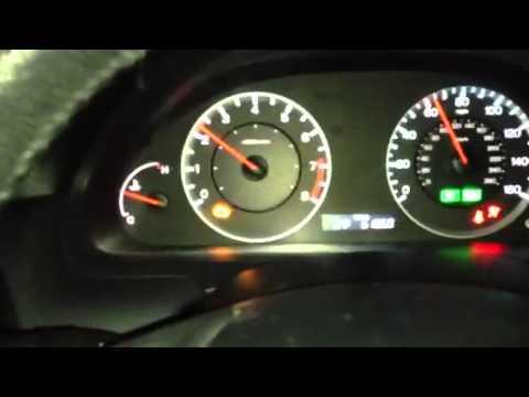 accord oil light flashing youtube