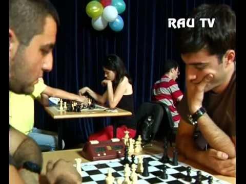 Межвузовский чемпионат по шахматам в Ереване