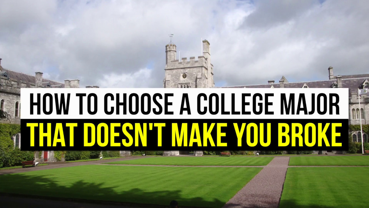 how to choose a college major The college degree program you choose can set the tone for the rest of your career explore different college majors at a variety of colleges and universities.
