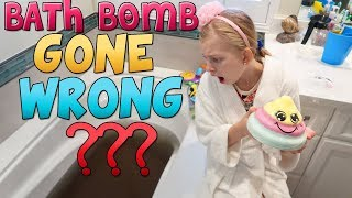 Morning Routine Giant Bath Bombs GONE WRONG!
