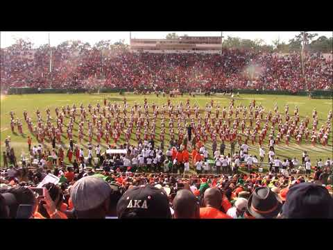 "FAMU 2017 - ""Homecoming Halftime Show"" 10/14/17 vs North Carolina A&T"