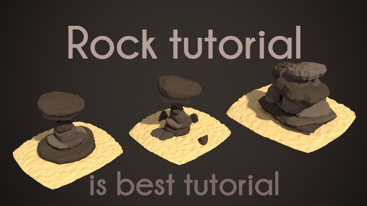 Pigart blender tutorial low poly rocks youtube pigart blender tutorial low poly rocks youtube baditri Choice Image