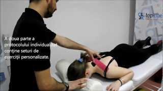 Kinetoterapie - Protocolul de tratament combinat pentru dureri cervicale (hernie de disc cervicala)