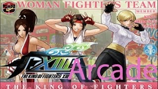 The King Of Fighters XIII Arcade - Women Fighters Team