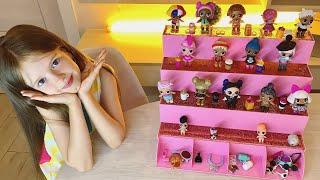 Моя коллекция кукол LOL SURPRISE!!! LOL Surprise pop shop!!!