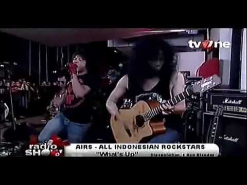 AIRS (All Indonesian Rock Stars) - What's up @RadioShow