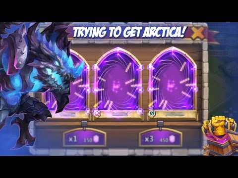 Castle Clash Rolling Gems (trying To Get Arctica)