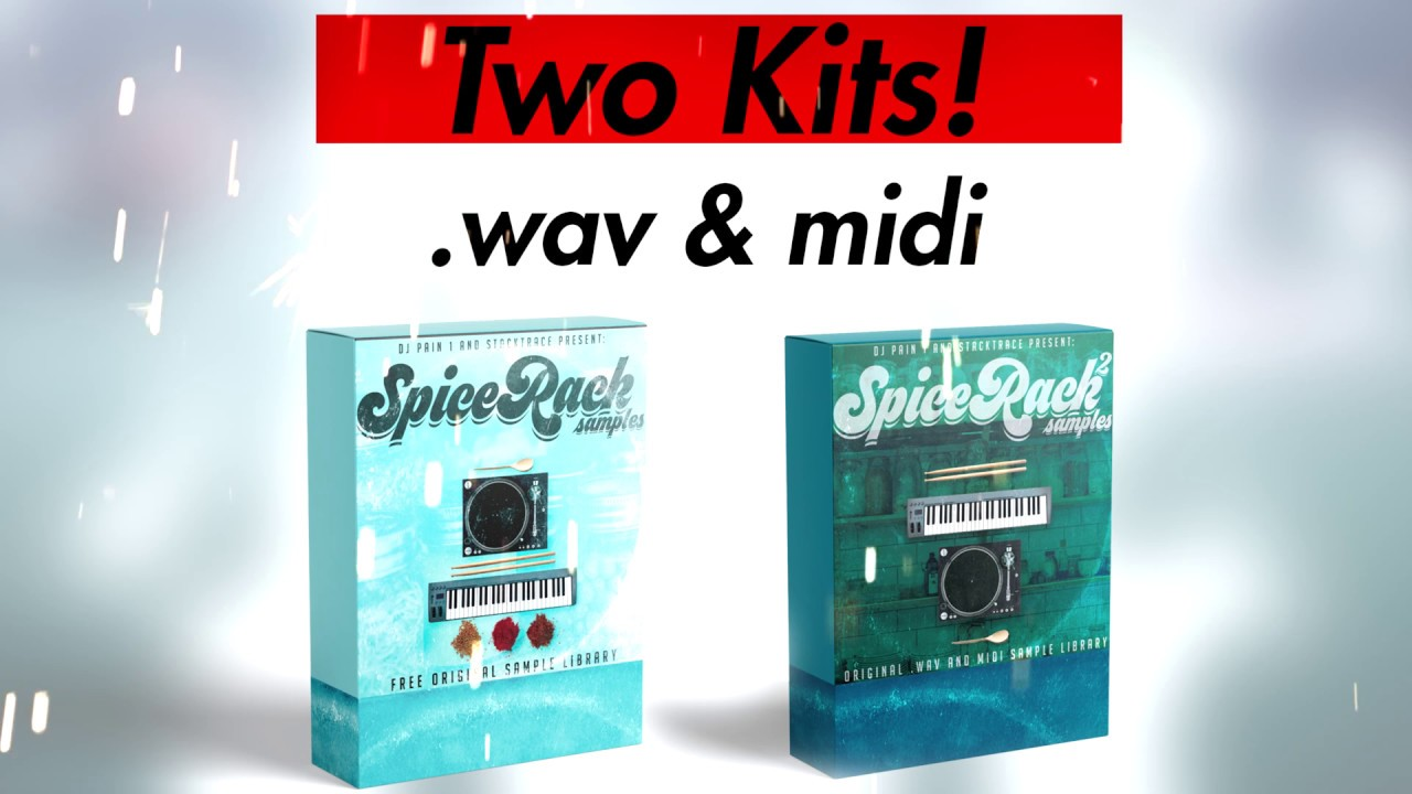 Free Sample Packs 2019 - Spice Rack Samples [Free Samples For FL Studio/Ableton/Maschine/Logic]