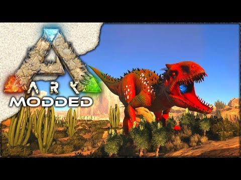 MODDED ARK: Scorched Earth ~ Ep 5 ~ LEVEL 6000+ INDOMINUS REX!!