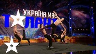 "Воркаут от коллектива ""Art of streets"" - Україна має талант-6 - Кастинг в Киеве"