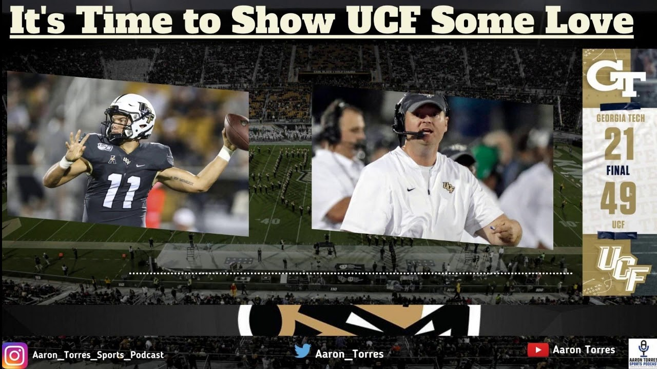 After Ucf Crushes Georgia Tech It S Time To Show Some Respect For The Knights Football Youtube