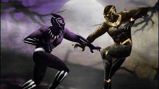 WWE black panther vs killmonger