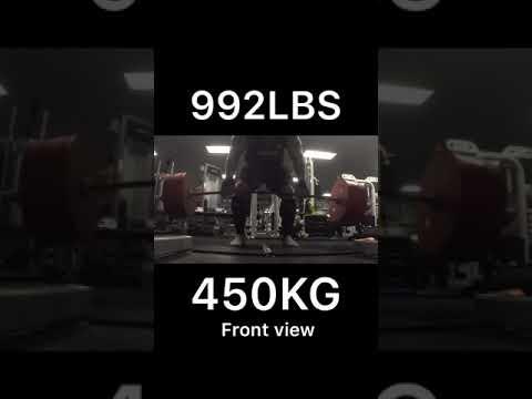 EDDIE HALL 'DEATH BY DEADLIFT' 500KG