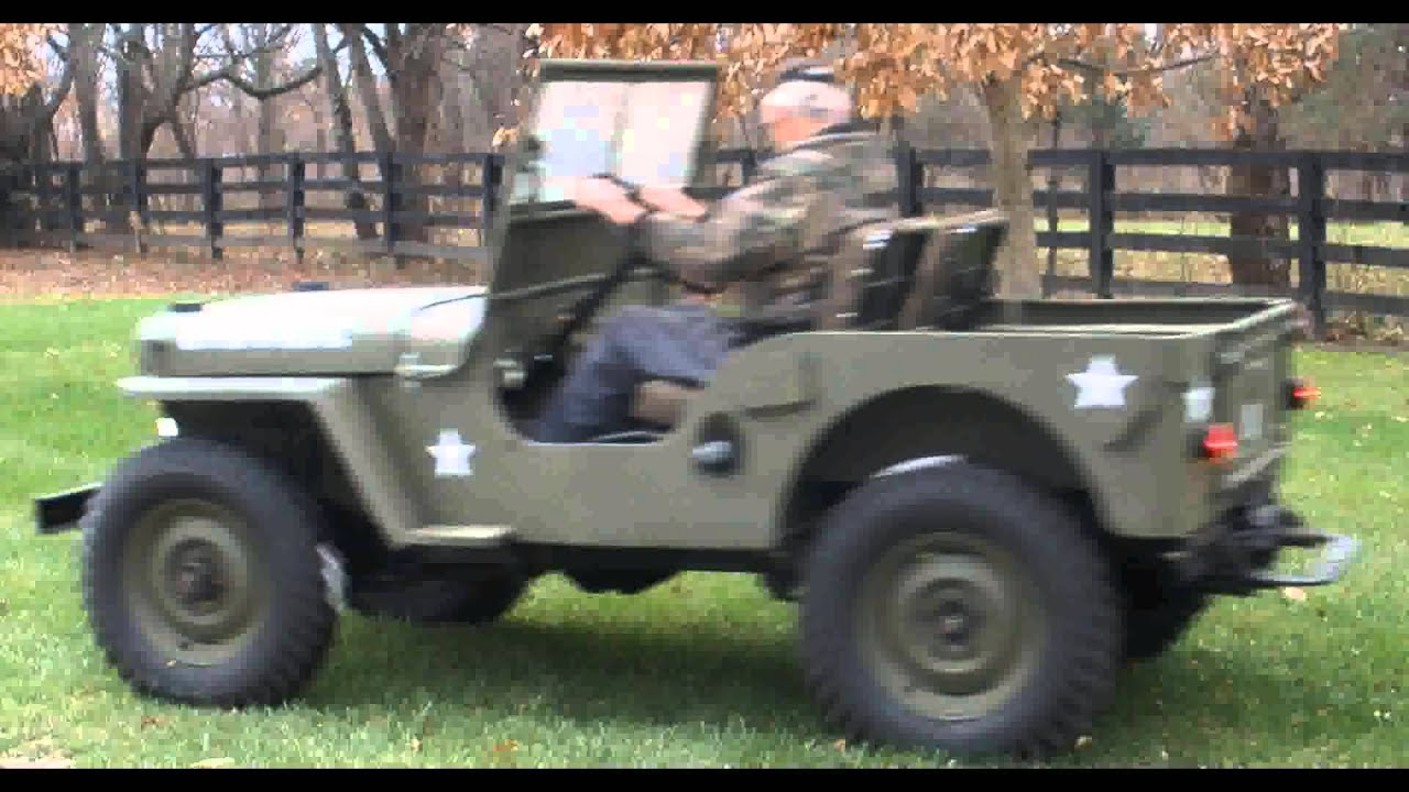 FOR SALE 1947 Jeep Willys CJ2 IN CANAL WNCHSTR OH