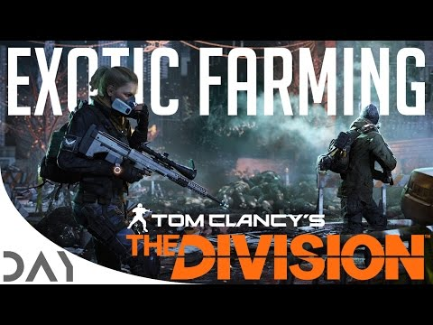 The Division - 1.6 Exotic Farming Guide