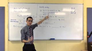 Polynomial Division (3 of 4: Where does the Remainder/Factor Theorem come from?)