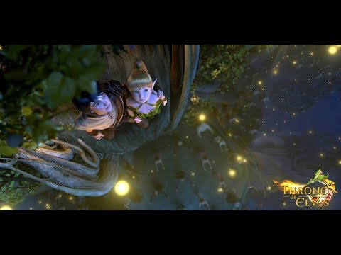 Download THRONE OF ELVES Official Trailer 2018 Animation Movie HD