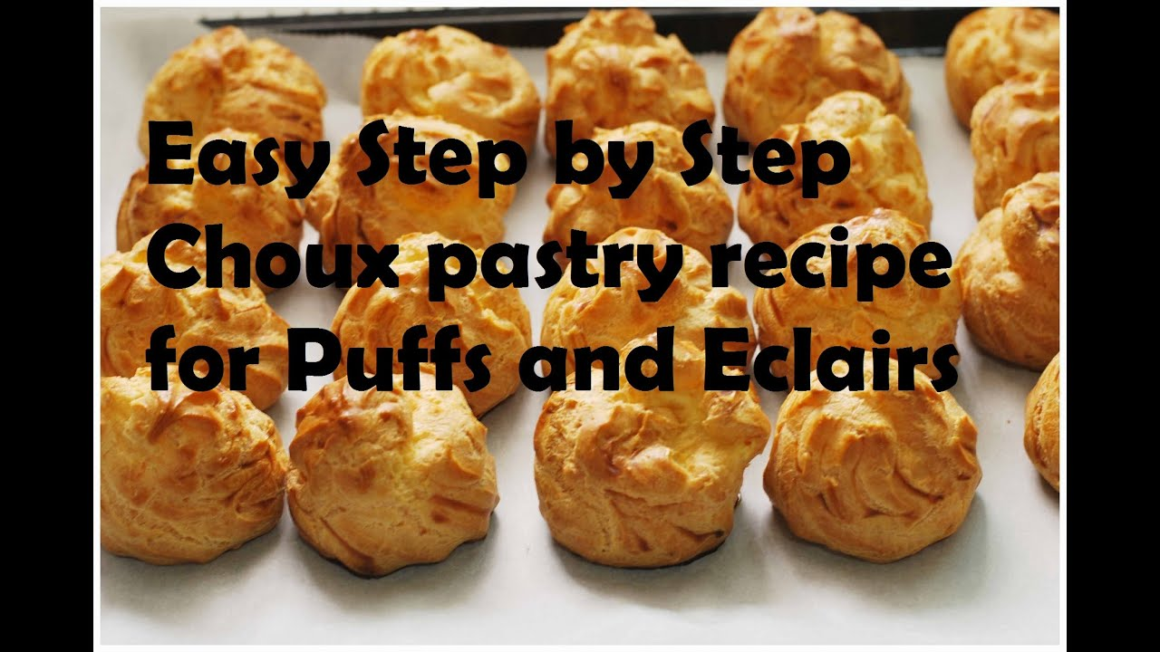 Easy make choux pastry recipe