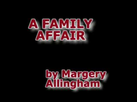 A Family Affair by Margery Allingham