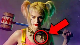 BIRDS OF PREY Trailer & Poster Breakdown! Batman Easter Eggs Revealed!