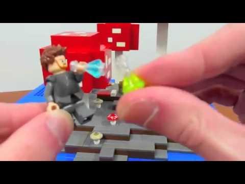 LEGO Minecraft Mushroom Island - YouTube