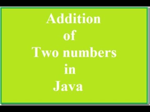 Addition of two number java Servlet