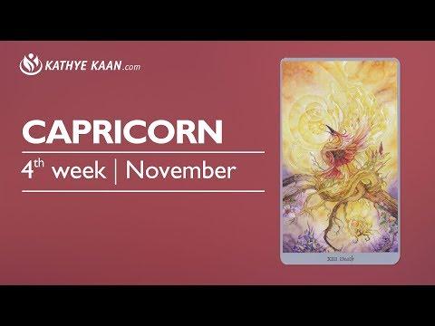 Capricorn Weekly Reading Psychic Tarot Horoscope | Week 47 | 20 - 26 November