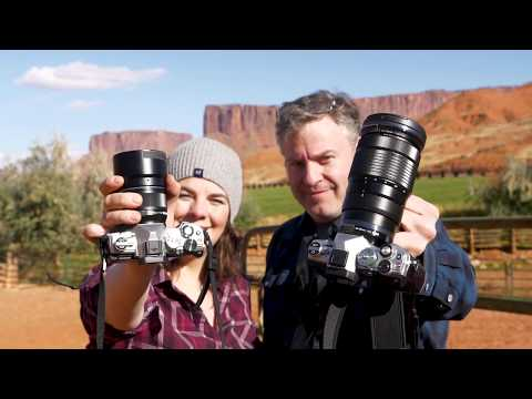 Hands-on Olympus OM-D E-M5 III Preview in Moab Utah