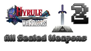 Hyrule Warriors 100% Walkthrough - Sealed Weapon #2 (All Sealed Weapons, Legend Mode Stage 4)