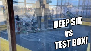 Deep Six Weapon Test FAIL! Dramatic Test Video from Battlebots 2019 - Discovery Channel