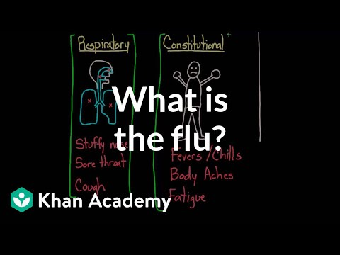 What is the flu? | Infectious diseases | Health & Medicine | Khan Academy