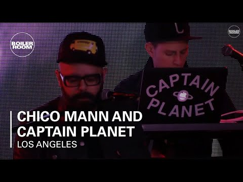 Chico Mann and Captain Planet Boiler Room x Budweiser Los An