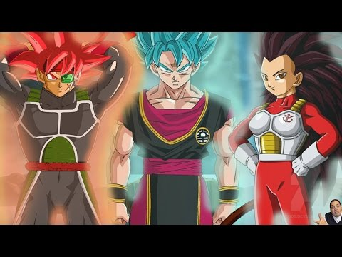 OMFG NEW SAIYANS!!! Dragon Ball Super Tournament: Universe 6 Saiyan Fighters Vs Universe 7