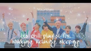 bts chill playlist 2019 for studying, relaxing, sleeping