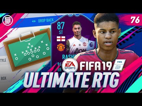 OP CUSTOM TACTICS!!! ULTIMATE RTG - #76 - FIFA 19 Ultimate Team