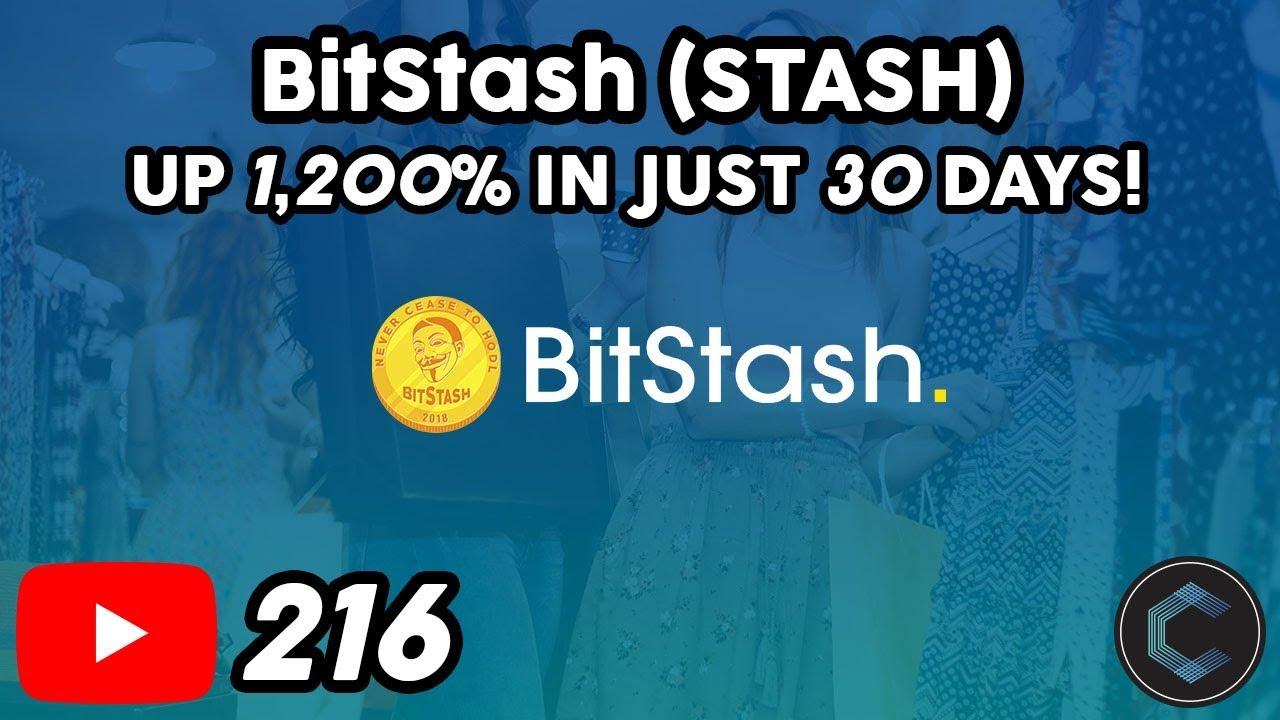 BitStash Partnership with Refereum & Trust Wallet Integration   STASH up 1,200% in just 30 Days!