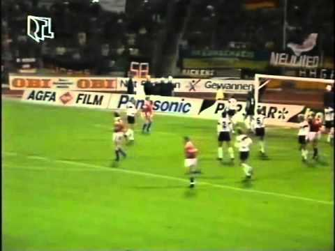 EM 92 Qualifier Luxembourg v Germany 31st OCT 1990