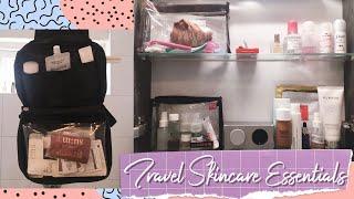 Travel Skincare Essentials 2018