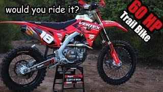 Honda CRF450R Trail Build  - Fire Breathing Machine