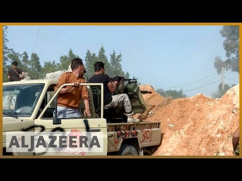 🇱🇾 Heavy clashes near Libya's Tripoli amid 'new phase of attack' | Al Jazeera English