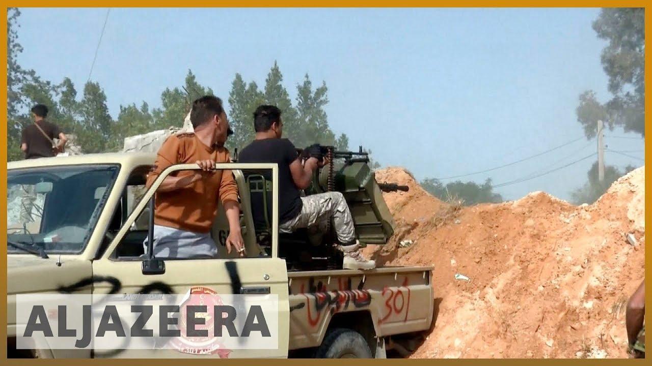 🇱🇾 Heavy clashes near Libya's Tripoli amid 'new phase of attack' | Al  Jazeera English