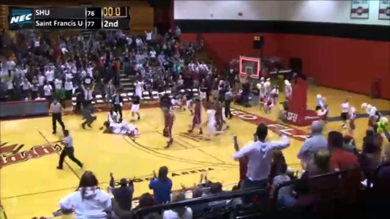 Ecac Basketball Play Of The Week Saint Francis University Youtube