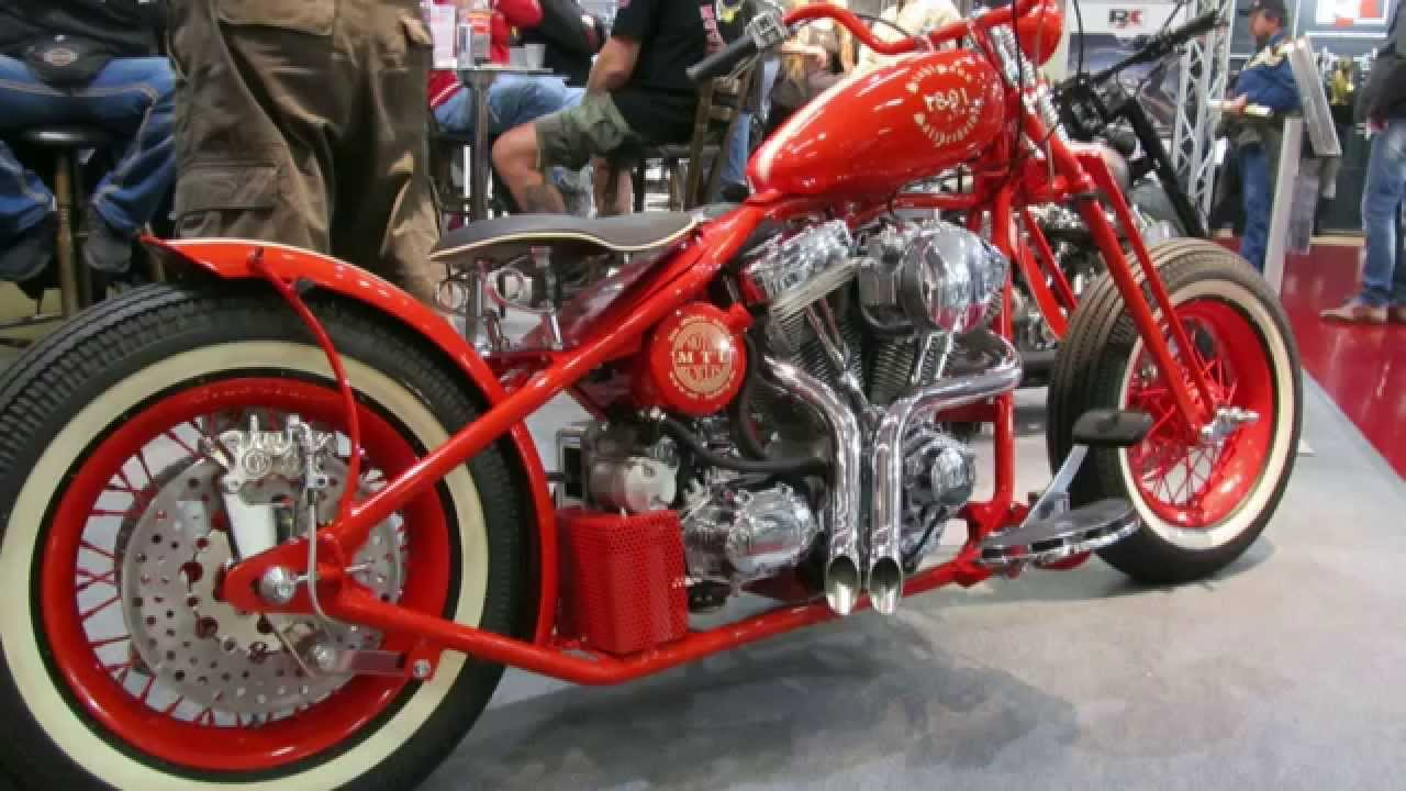 Custombike Messe Bad Salzuflen 2013 Custom Bikes Germany