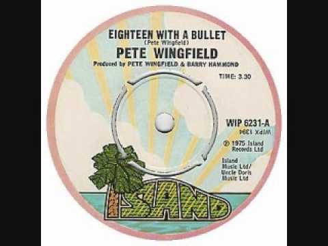 Pete Wingfield   18 With A Bullet
