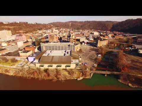 Wheeling Aerial 4K UltraHD - The City as it's Never Been Seen Before