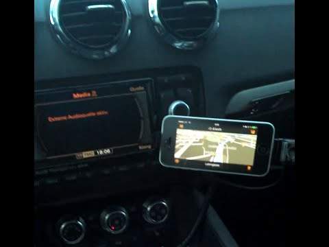 Belkin Tunebase Hands Free Aux Iphone 5 5C Audi TT
